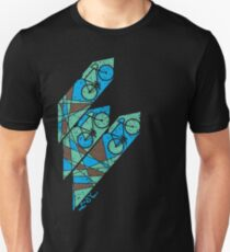 Abstract Bicycle T Shirt T-Shirt