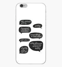 overly affectionate greeting {root & shaw - person of interest} iPhone Case