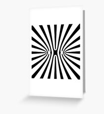 High Contrast Fractal Abstract 140717 Greeting Card