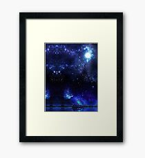 Night on the Nile Framed Print