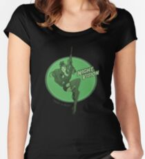 Night Vision Pin Up Women's Fitted Scoop T-Shirt