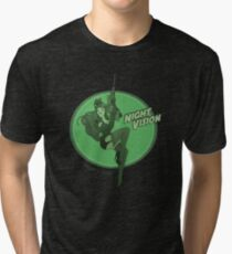Night Vision Pin Up Tri-blend T-Shirt