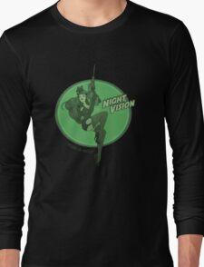 Night Vision Pin Up Long Sleeve T-Shirt