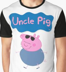 Peppa Pig, Uncle Pig Graphic T-Shirt