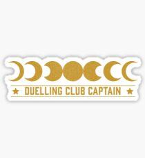Duelling Club Captain Sticker