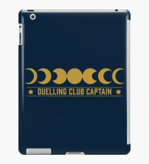 Duelling Club Captain iPad Case/Skin