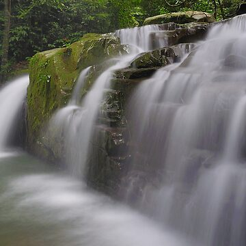 Mossy Falls by jollence