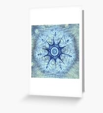 Fractal Design 7 Greeting Card