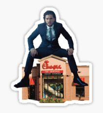 Jon Snow on Chick Fil A Sticker
