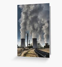 Loyang Power Station Circa 30/04/08 Greeting Card