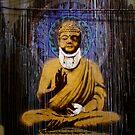 Banksy - Bashed Buddha by Kiwikiwi