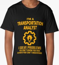 TRANSPORTATION ANALYST - NICE DESIGN 2017 Long T-Shirt