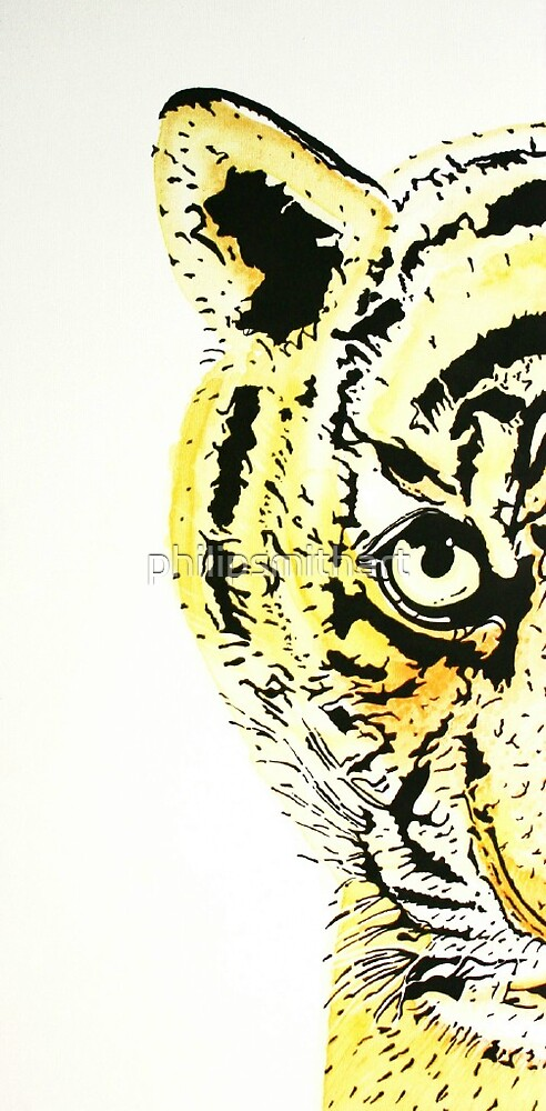 Tigers Eye by philipsmithart