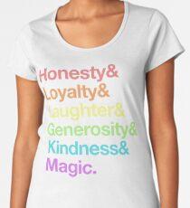 My Little Pony - Elements of Harmony - Rainbow Women's Premium T-Shirt