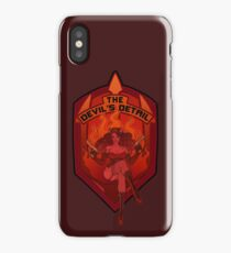 The Devil's Detail iPhone Case/Skin
