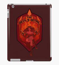 The Devil's Detail iPad Case/Skin