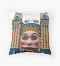 Luna Park, Sydney Throw Pillow