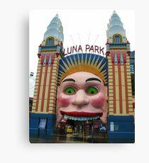 Luna Park, Sydney Canvas Print