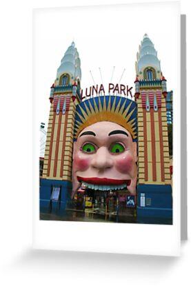 Luna Park, Sydney by Michael John