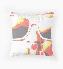 Pink Sunglasses Homeware Throw Pillow