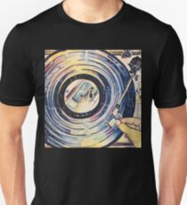 Watercolor Record Player T-Shirt