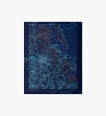 Massachusetts  USGS Historical Topo Map MA Ipswich 351817 1945 31680 Inverted Art Board