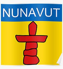 Nunavut Logo (Canada) Poster