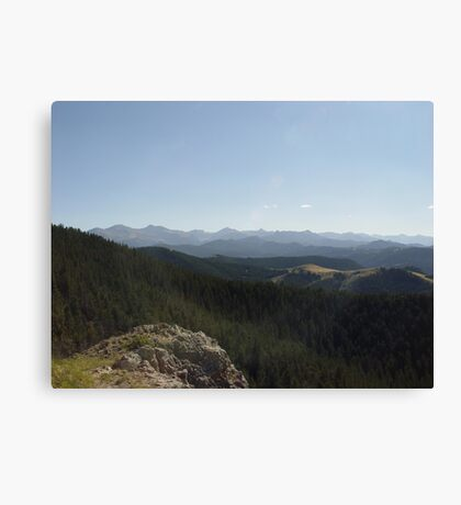 Yellowstone Forever Canvas Print