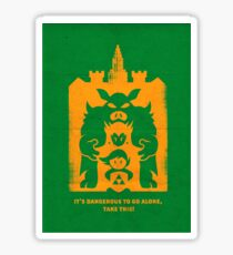 It's Dangerous to go alone! Buy This! Sticker