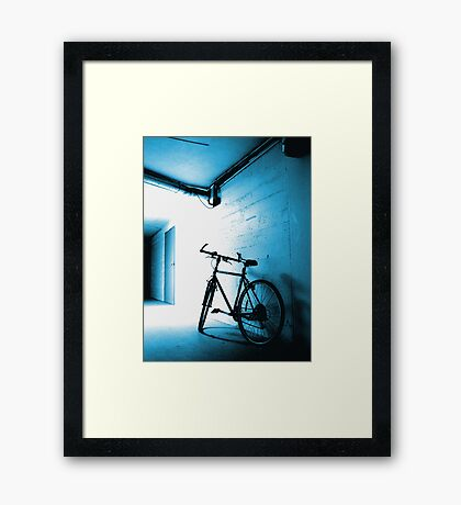 Out of the Limelight Framed Print
