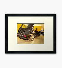 Backend Car Framed Print