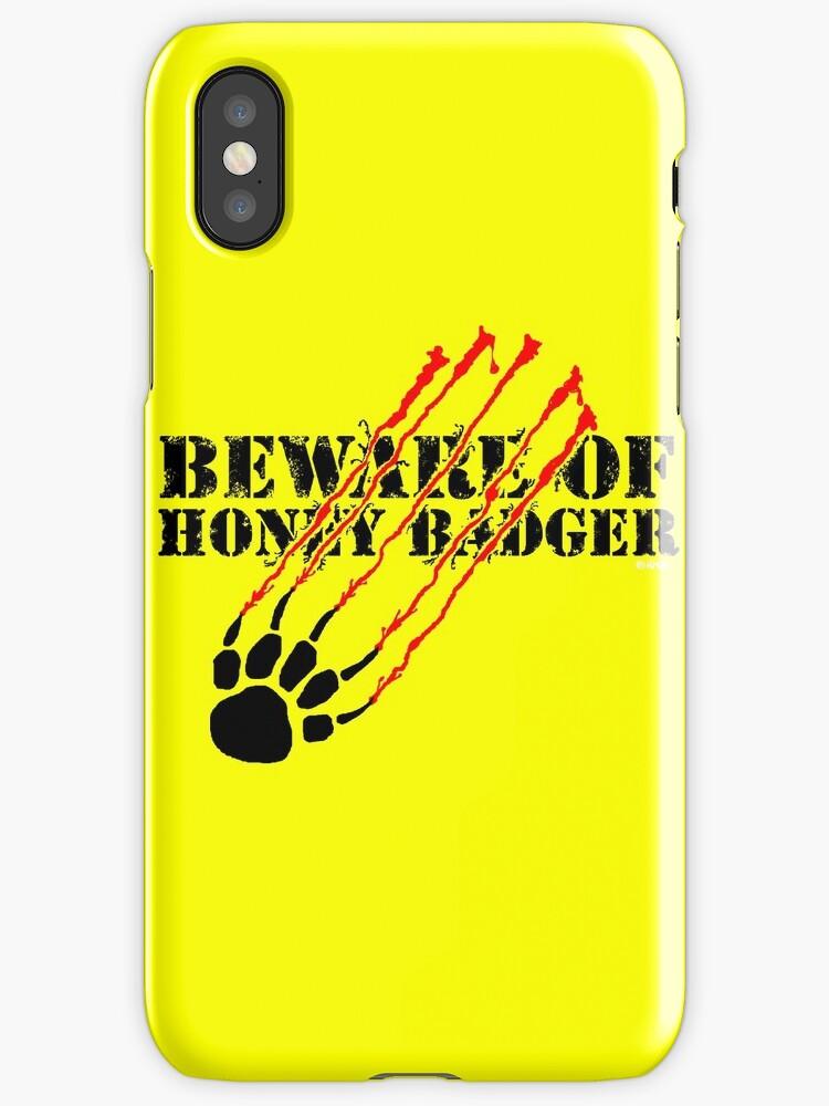 Beware of honey badger by NewSignCreation