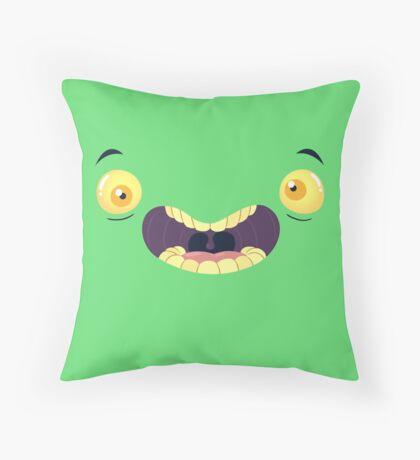 Monster Mugs - Cray Cray Throw Pillow