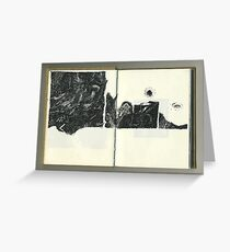 Autopsie du Noir - Autopsy of the black -  Greeting Card