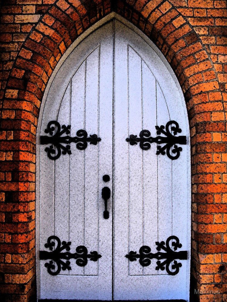 Church Doors in HDR version 2 by Maximus