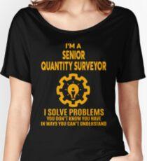 SENIOR QUANTITY SURVEYOR - NICE DESIGN 2017 Women's Relaxed Fit T-Shirt