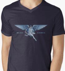 Blue Angel Pinup Men's V-Neck T-Shirt