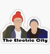 The Electric City Sticker