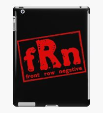 Front Row Order iPad Case/Skin