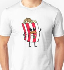 Detective Popcorn and his Buttery Goodness! T-Shirt