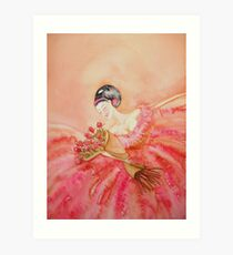 After The Aria 'Lady of the Opera' © Patricia Vannucci 2008 Art Print