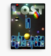 Lost In Cyberspace Canvas Print