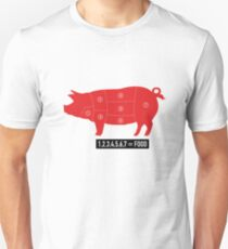 Pork is food Unisex T-Shirt