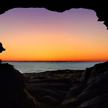 Sunset Cave by pc5303