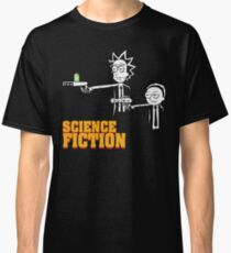 Science Fiction Rick and Morty Pulp Fiction Classic T-Shirt