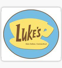 Luke's Cafe Gilmore Girls Sticker