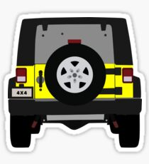 Off-Road Jeep | Yellow Sticker