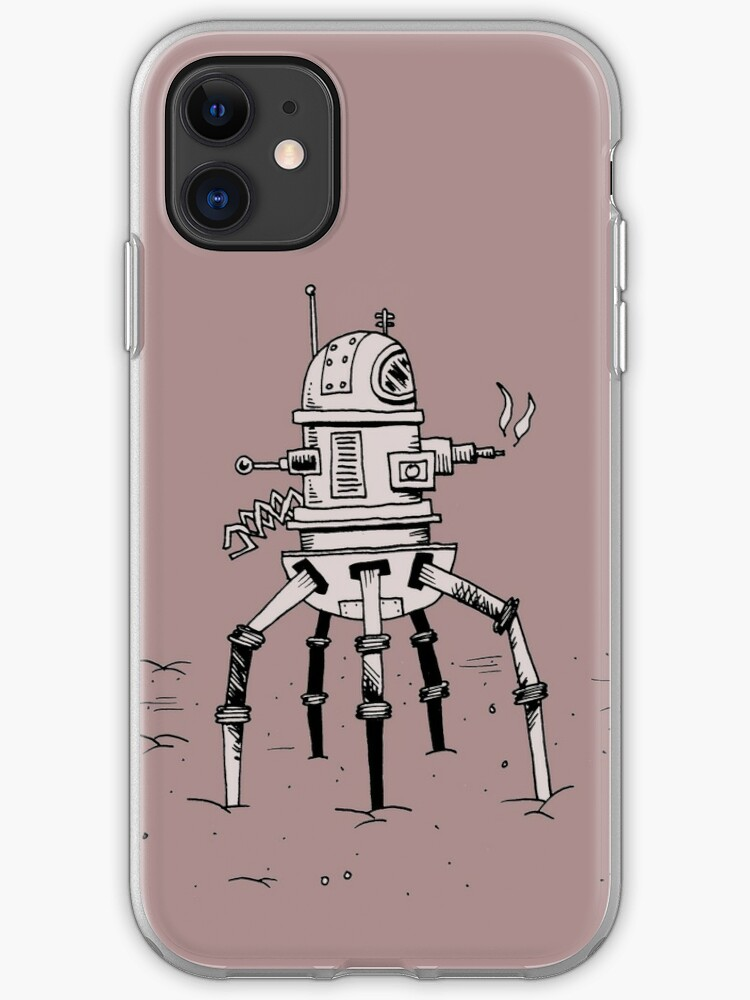 terminator robot iphone case