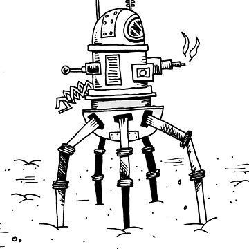 Robot Terminator by awcomix
