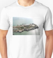 Flyover Alcatraz Island at 500 ft. Unisex T-Shirt
